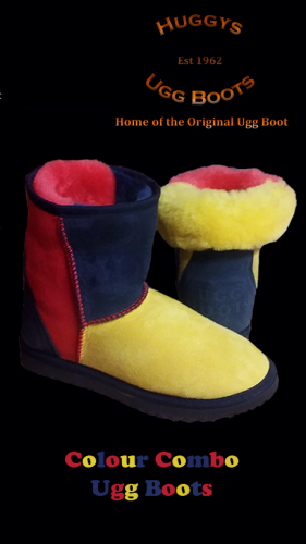 Colour Combo Ugg Boots